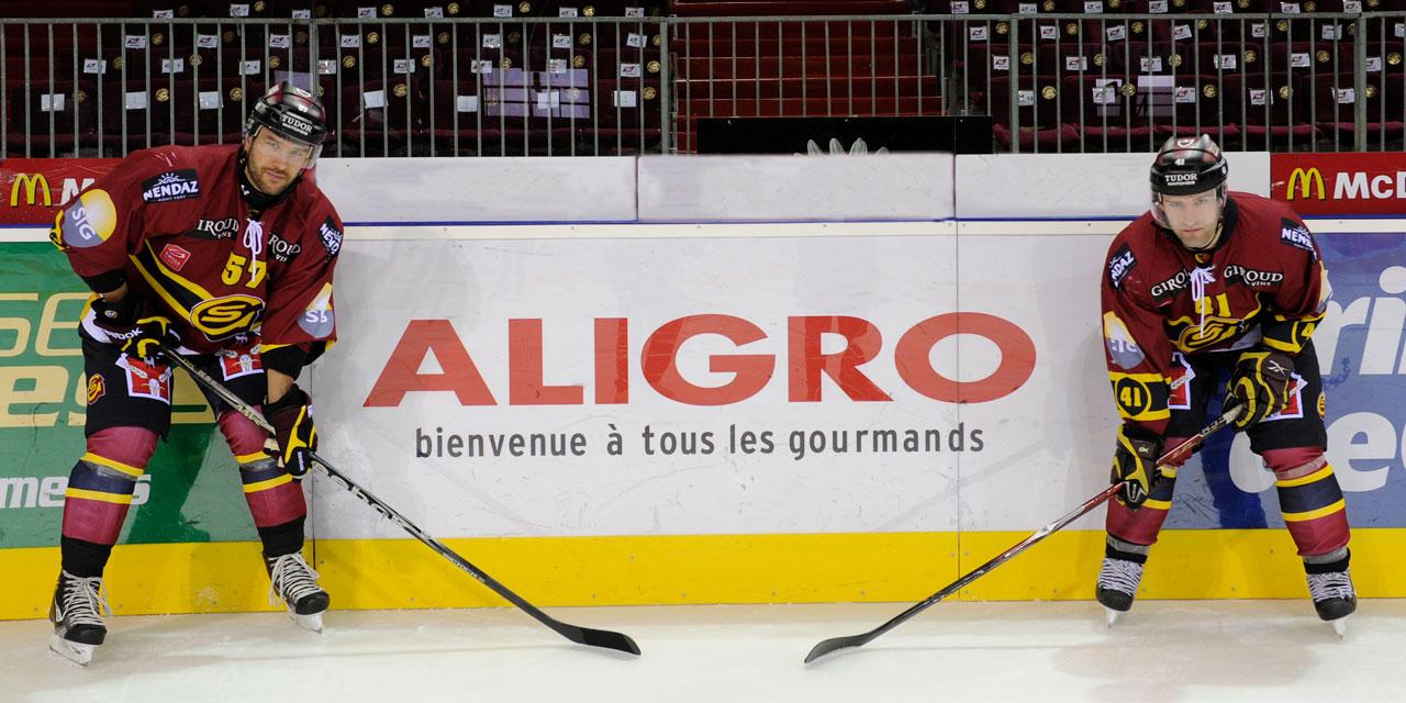 Aligro, sponsor du Genève Servette Hockey Club