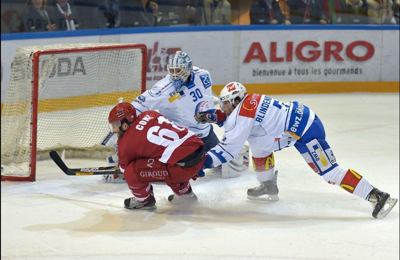 Aligro, sponsor du Lausanne Hockey Club