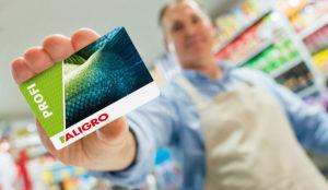 ALIGRO Karte für Profis Aus Der Lebensmittelbranche