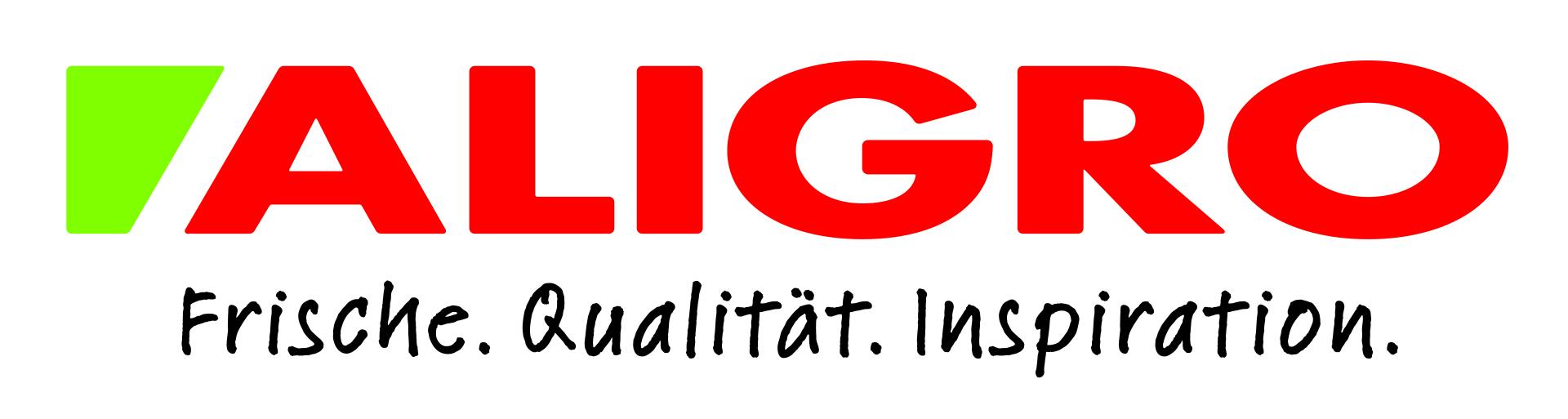 ALIGRO Logo mit Claim, CMYK