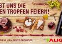 Lasst uns die guten Tropfen feiern! ALIGROs Weinfest von 21. September bis 3. Oktober 2020