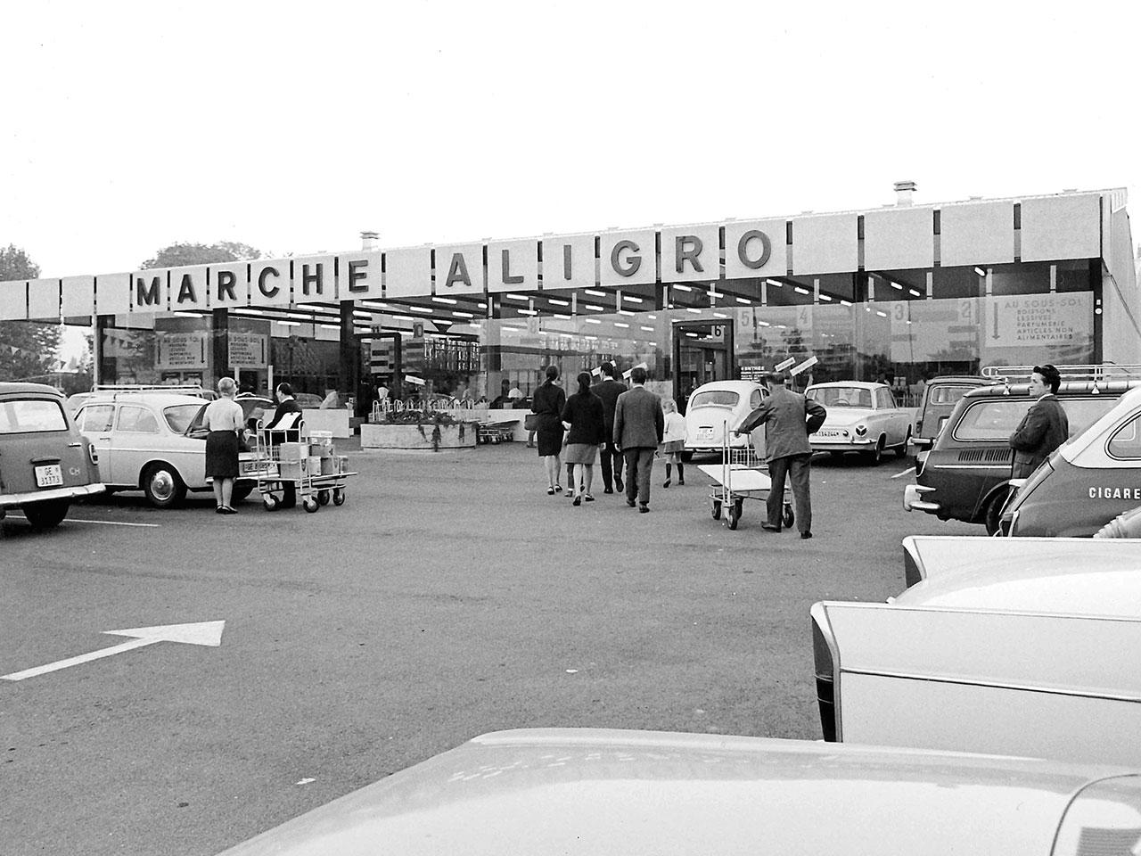 ALIGRO in Genf, 1966